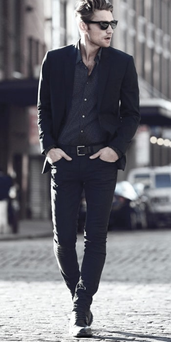 What To Wear With Guys Black Jeans Outfits Style Designs
