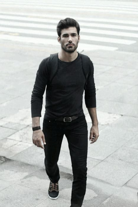 4f993aa03e What To Wear With Guys Black Jeans Outfits Style Fashion Inspiration