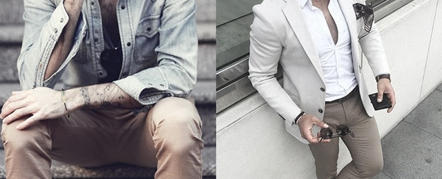 What To Wear With Khaki Pants For Men