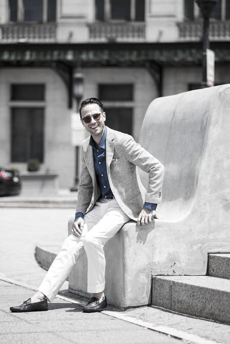 What To Wear With Male White Jeans Classy Outfits Styles