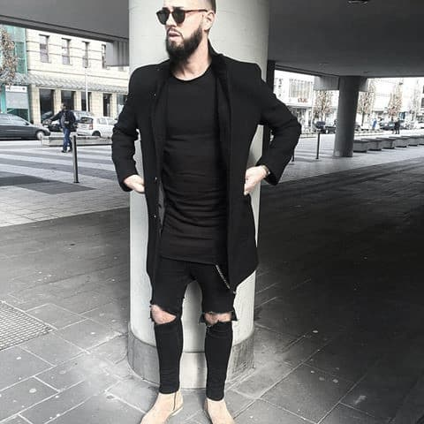 What To Wear With Manly Black Jeans Outfits Male Style Ideas