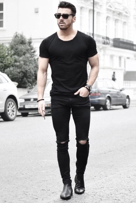 What To Wear With Masculine Black Jeans Outfits Style Ideas For Men