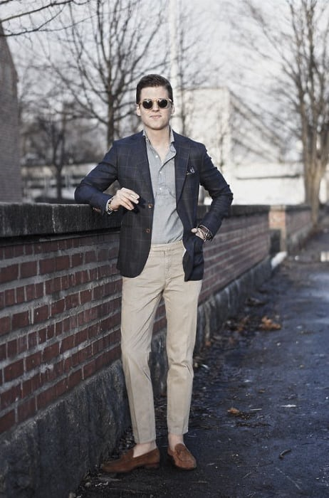 What To Wear With Mens Clothing Khaki Pants Outfits Styles