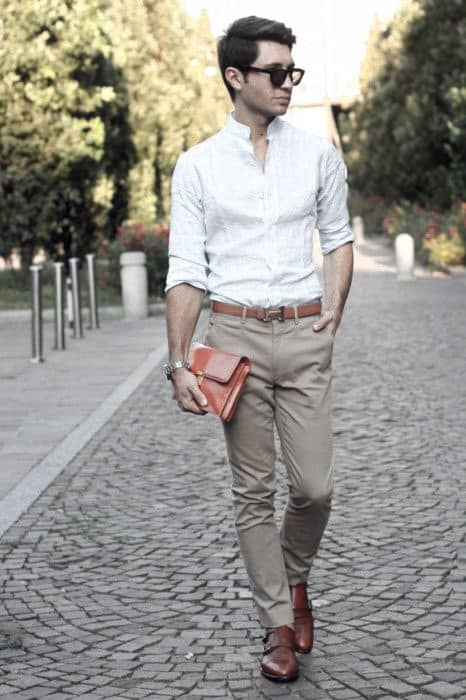 What To Wear With Khaki Pants For Men 50 Male Outfit Styles