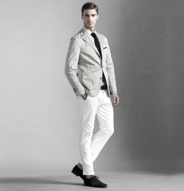 What To Wear With Mens White Jeans Outfits Outfit Style Ideas
