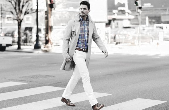 What To Wear With White Jeans Masculine Outfits Style Ideas For Men