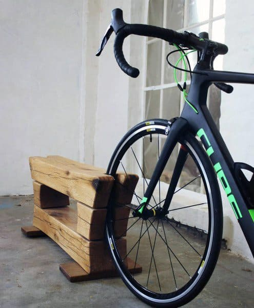 Wheel Stand Bicycle Storage Ideas