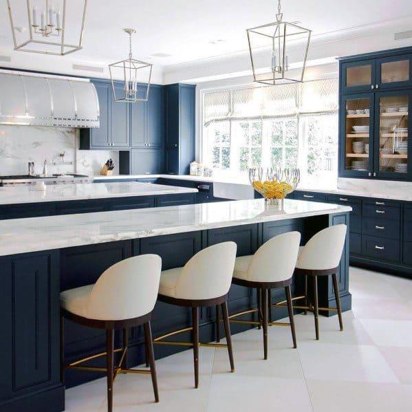 White Kitchen Flooring Ideas: Top 60 Best Kitchen Flooring Ideas