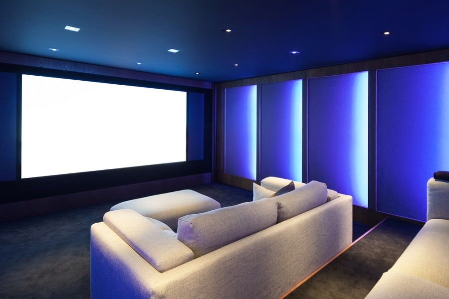 Good Ideas For Home Theater Seats Plush Sectional