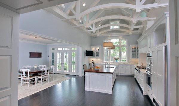 White Arches Kitchen Ceiling Ideas