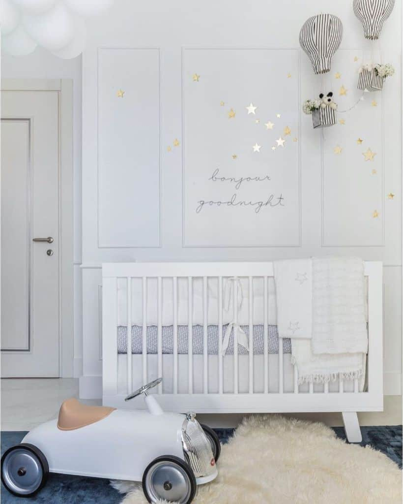 White Baby Room Ideas Parisasieber