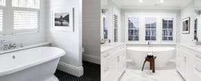 Top 60 Best White Bathroom Ideas – Home Interior Designs