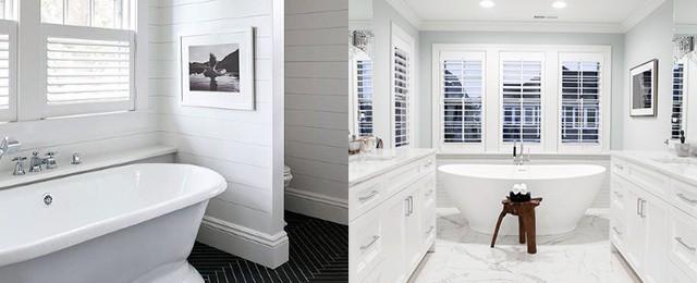Top 60 Best White Bathroom Ideas Home Interior Designs