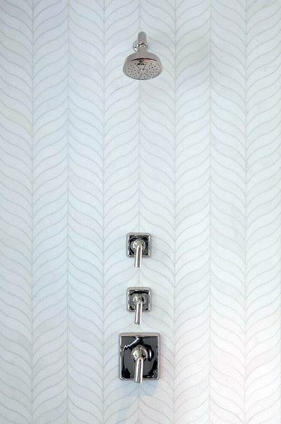 White Bathroom Tile Shower Ideas