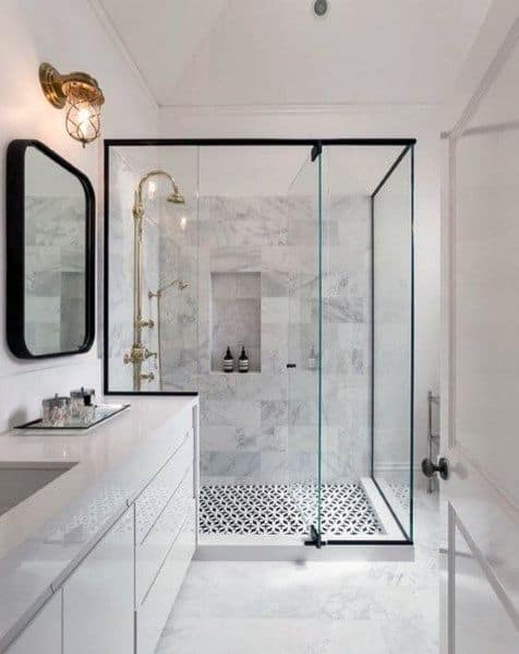 White Bathrooms Interior Ideas