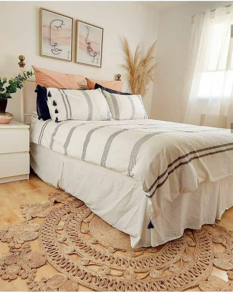white boho bedroom ideas nordichome.wales