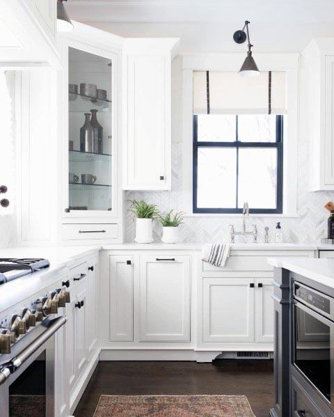 White Cabinets Kitchens