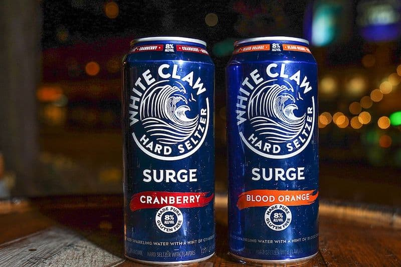 White Claw Hard Seltzer adds 8% ABV Surge