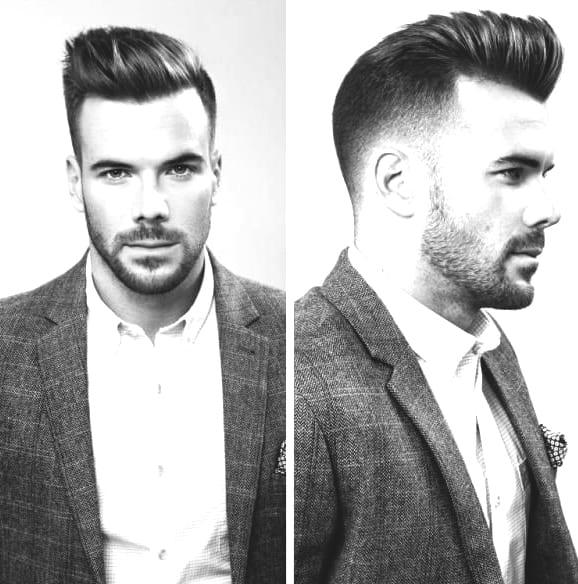 White Collar Career Hairstyles For Men