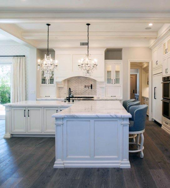 White Color Themed Kitchen Ideas