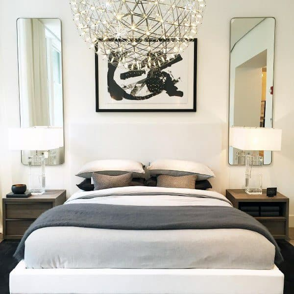 White Cool Headboard Ideas