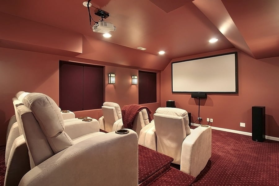 Home Home Theater Seating Ideas