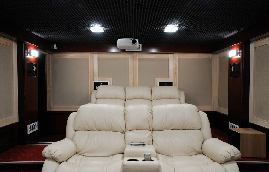 Top 70 Best Home Theater Seating Ideas - Movie Room Designs
