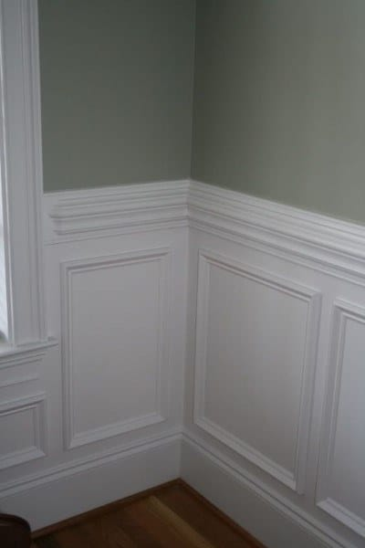 White Decorative Wainscoting Ideas