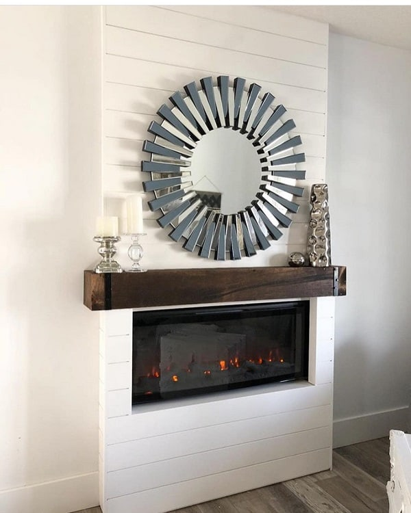 White Diy Fireplace Surround Suitsandsawdust