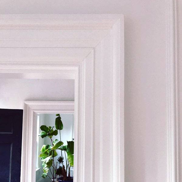 White Door Trim Casing Ideas