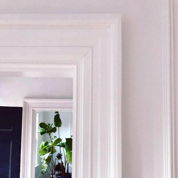 White Door Trim Casing Ideas