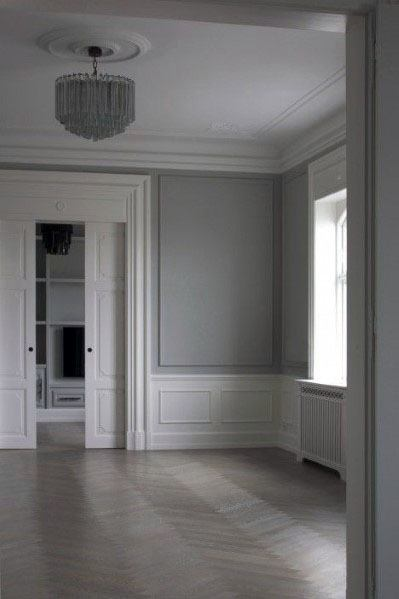 White Door Trim Design Idea Inspiration