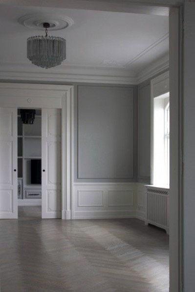 White Door Trim Design Idea Inspiration