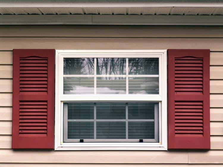 White Exterior Window Trim For Vinyl Siding