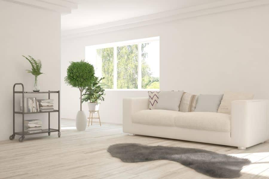 White Family Room Ideas 2