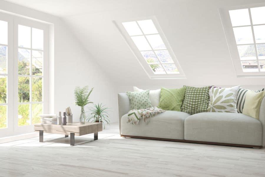 White Family Room Ideas 4
