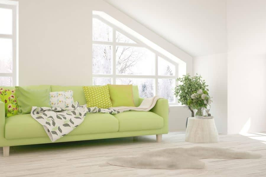 White Family Room Ideas 5