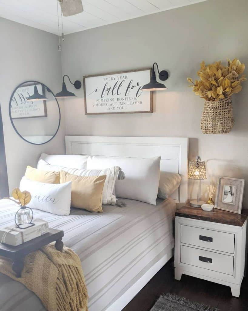 white farmhouse bedroom ideas our.1905.home