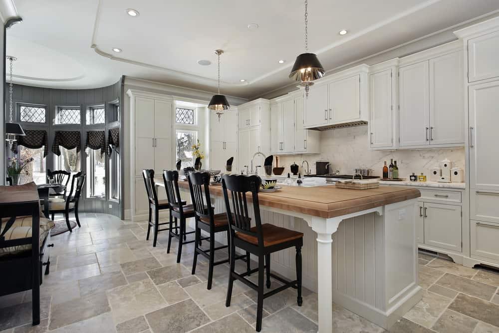 white farmhouse kitchen ideas 9