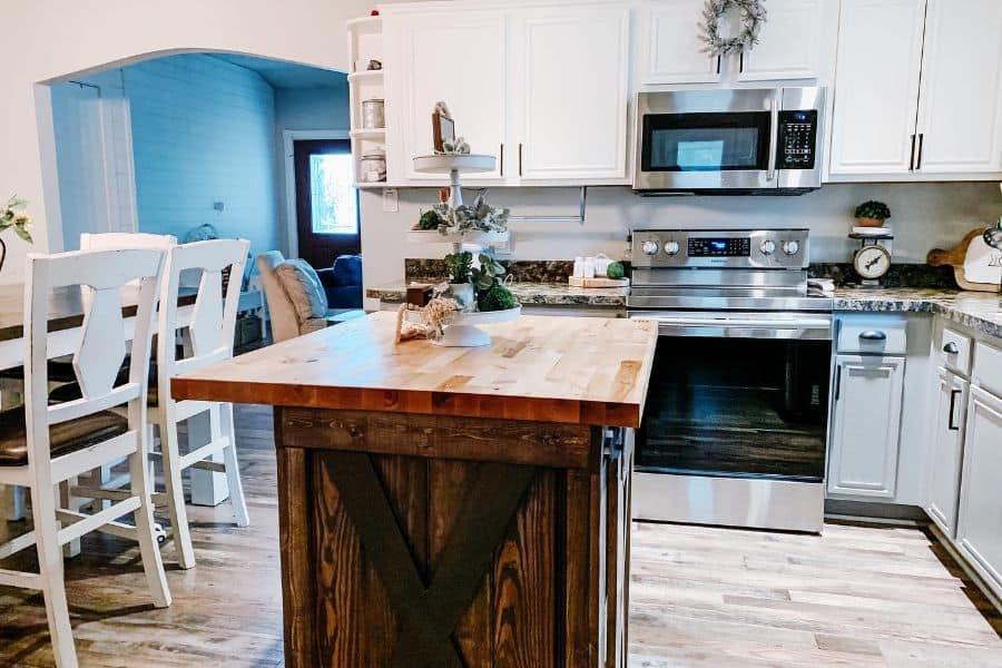 White Farmhouse Small Kitchen Ideas Nedda.roach