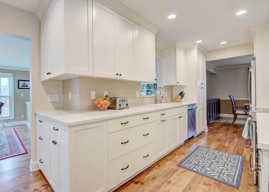 white galley kitchen ideas jjcontractors1llc