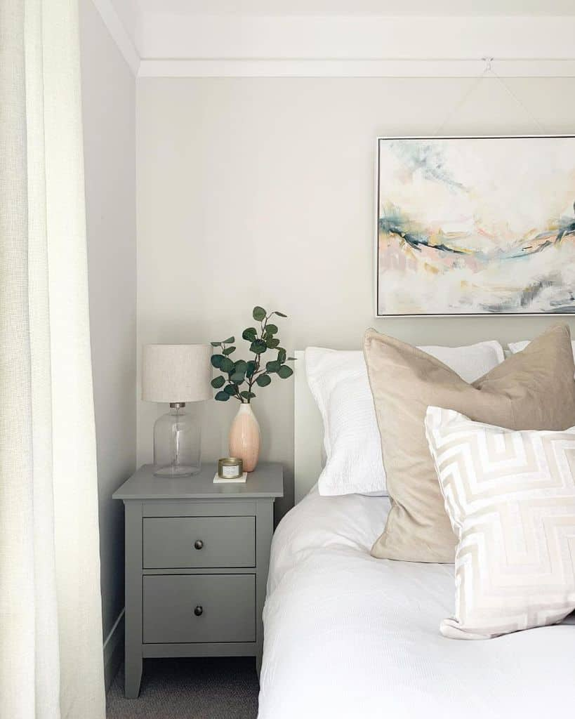 White Guest Bedroom Ideas Homebythecoast