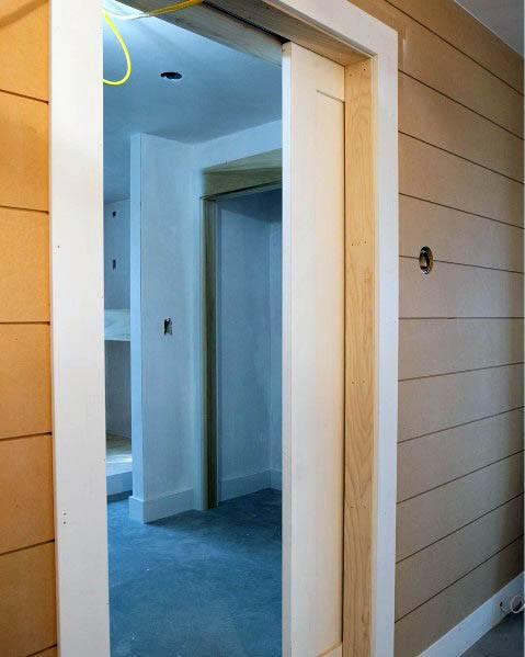 White House Pocket Door Ideas