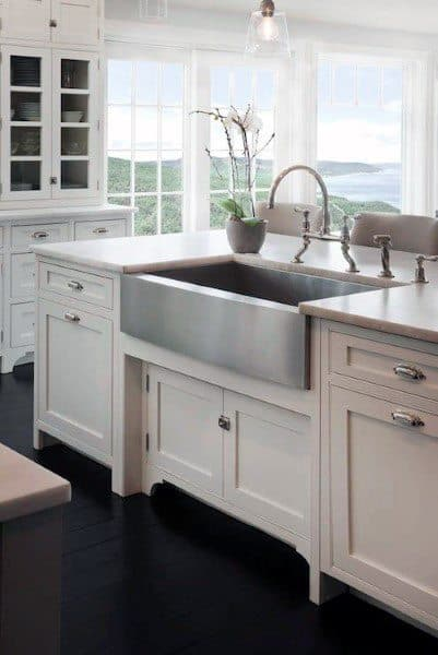 Simple White Kitchen Cabinet Ideas Minimalist