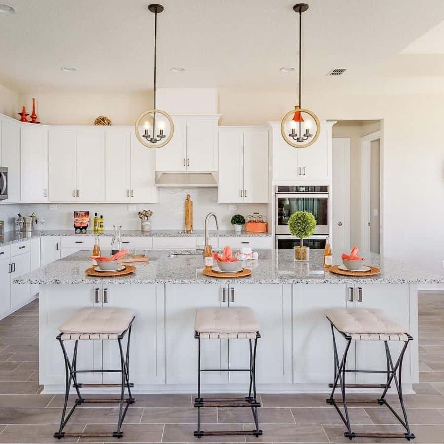 White Kitchen Color Ideas Farmstyle Homes