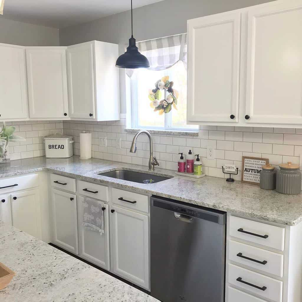 white kitchen color ideas happinessandhomedecor