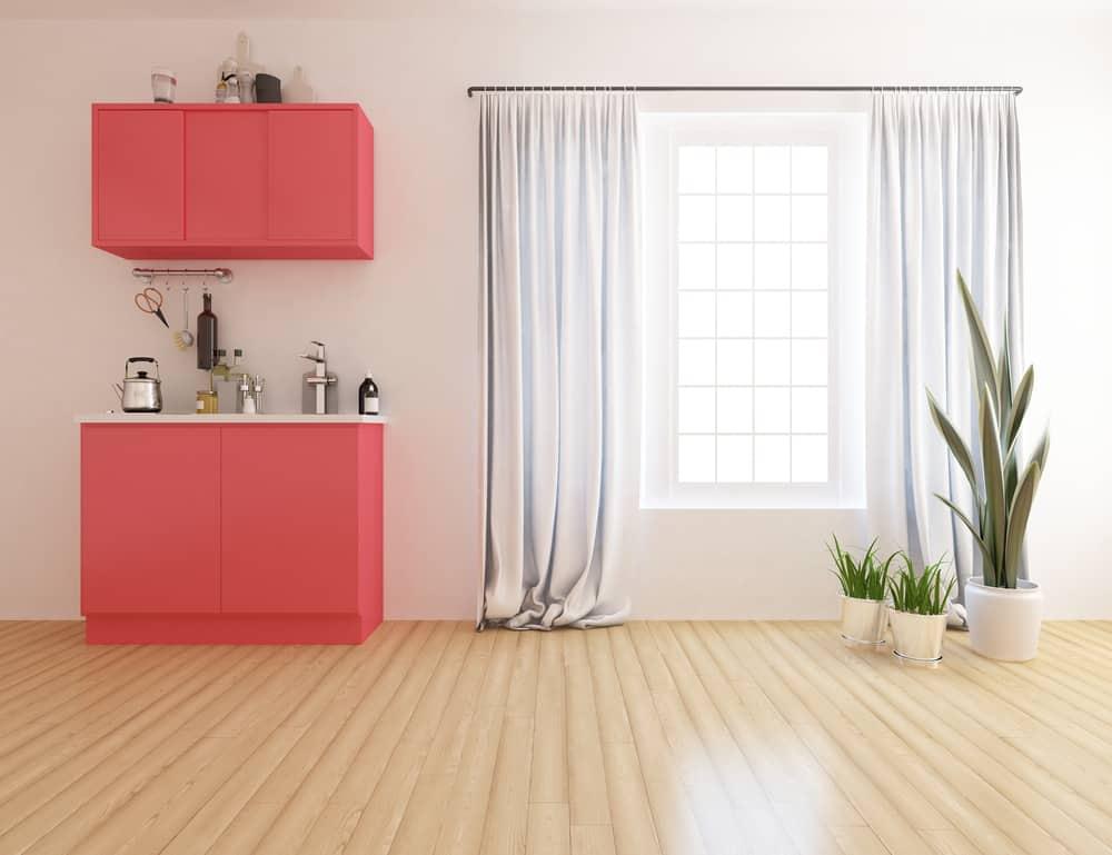 white kitchen curtain ideas 1