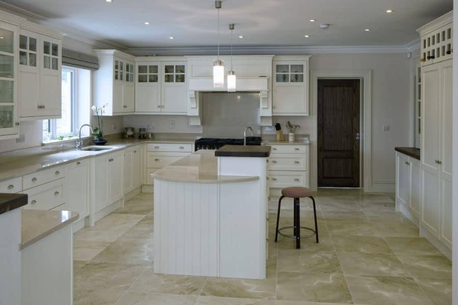 White Kitchen Modern Farmhouse Kitchen 1