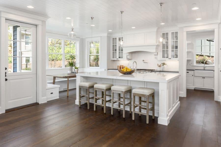 White Kitchen Modern Farmhouse Kitchen 3