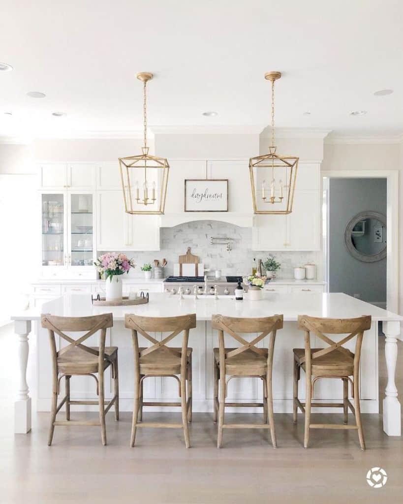 White Kitchen Modern Farmhouse Kitchen Lifeoncedarlane